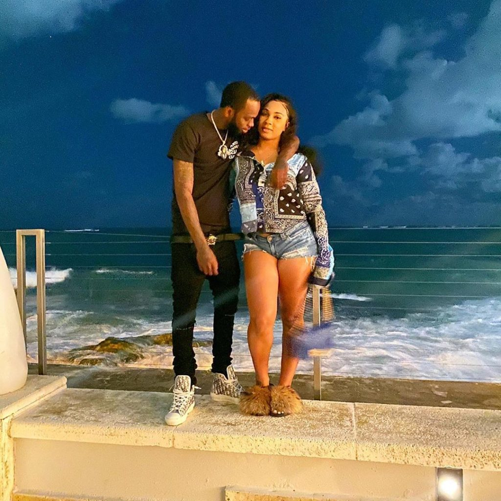 Rapper Kiing Shooter girlfriend name is not made public, but she is beautiful and the couple looked LIT together.