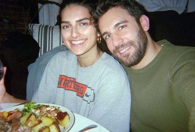 Saffron Vadher and Derek Peth
