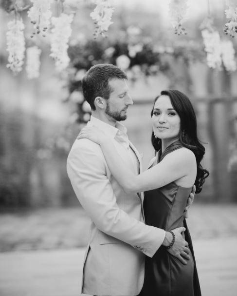 Tasneem Roc wedding with husband Tommy
